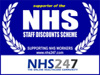 We're a proud supporter of the NHS Staff discounts scheme
